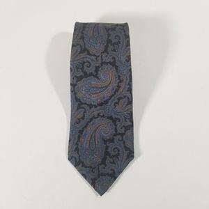 Robert Talbott Paisley Print Silk Neck Tie